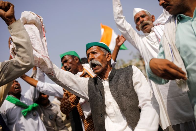 Farmers protest against farm laws, in Ghaziabad