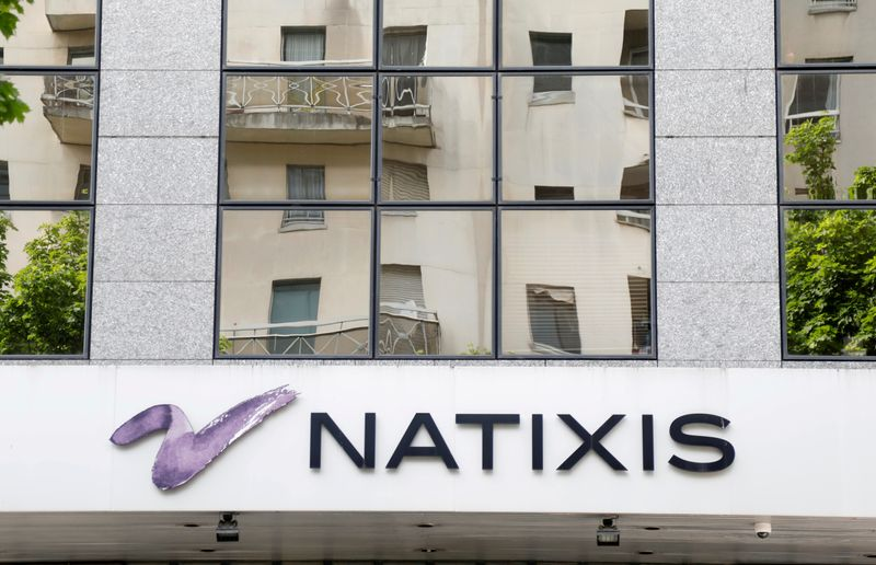 FILE PHOTO: The logo of Narixis is seen on a building in Charenton-le-Pont near Paris, France