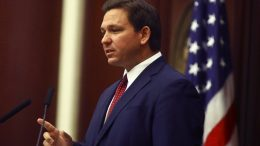Florida Gov. Ron DeSantis speaks Tuesday, March 2, 2021 during his State of the State address at the Capitol in Tallahassee, Fla. (AP Photo/Phil Sears)