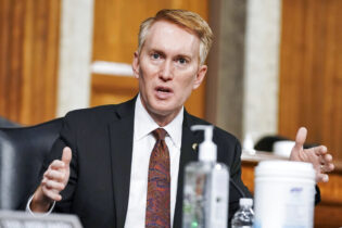 Sen. James Lankford, R-Okla., speaks during a Senate Committee on Homeland Security and Governmental Affairs and Senate Committee on Rules and Administration joint hearing Wednesday, March 3, 2021, examining the January 6, attack on the U.S. Capitol in Washington. (Greg Nash/Pool via AP)