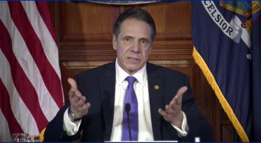 In this image taken from video from the Office of the NY Governor, New York Gov. Andrew Cuomo speaks during a news conference, Wednesday, March 3, 2021, in Albany, N.Y. (Office of the NY Governor via AP)
