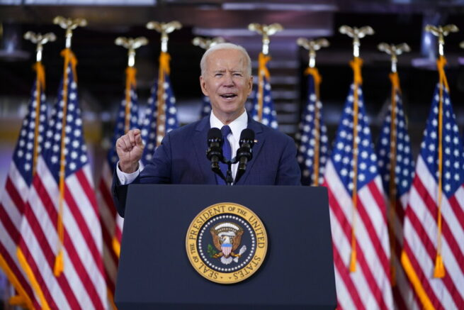 Biden unveils T infrastructure plan, tax increases