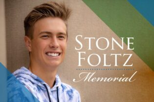 The event flyer for the memorial to honor the life of Stone Foltz is displayed. (BGSU USG / Twitter)