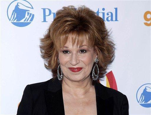 Joy Behar in Nov. 2012. (Charles Sykes/Invision/AP)