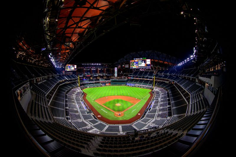 FILE PHOTO: MLB: Houston Astros at Texas Rangers
