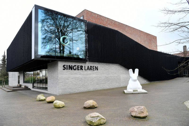 FILE PHOTO: The Singer Laren Museum, where the work of art