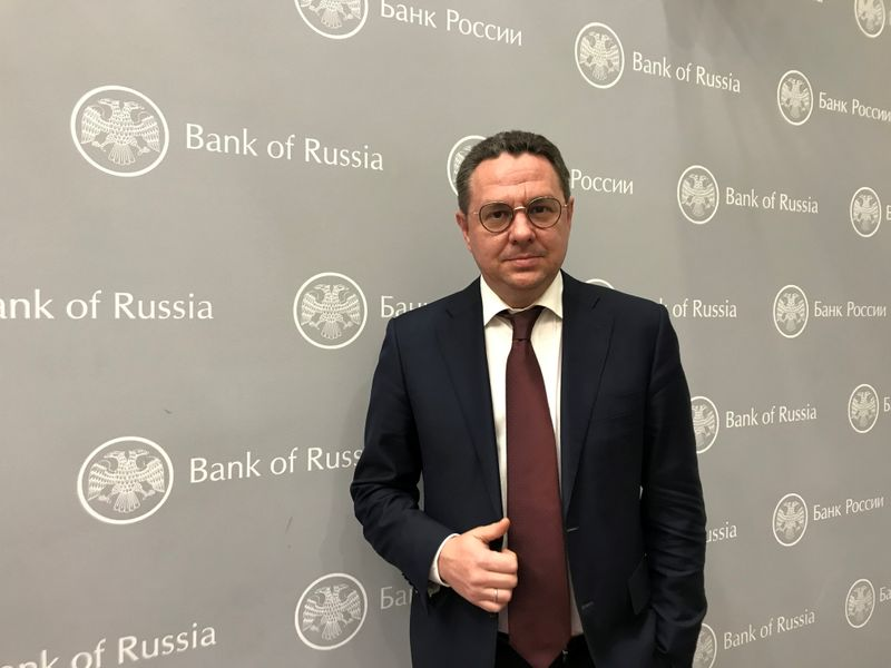 Kirill Tremasov, head of monetary policy department at the Bank of Russia, poses for a picture in Moscow