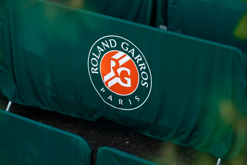FILE PHOTO: Tennis - French Open - Roland Garros - Roland Gorros logo