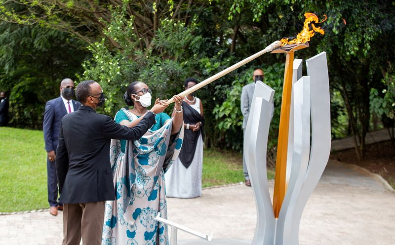 FILE PHOTO: Commemoration of the 1994 Genocide, at the Kigali Genocide Memorial Center in Kigali
