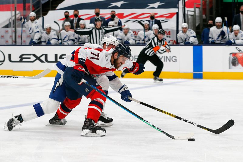 NHL: Tampa Bay Lightning at Columbus Blue Jackets