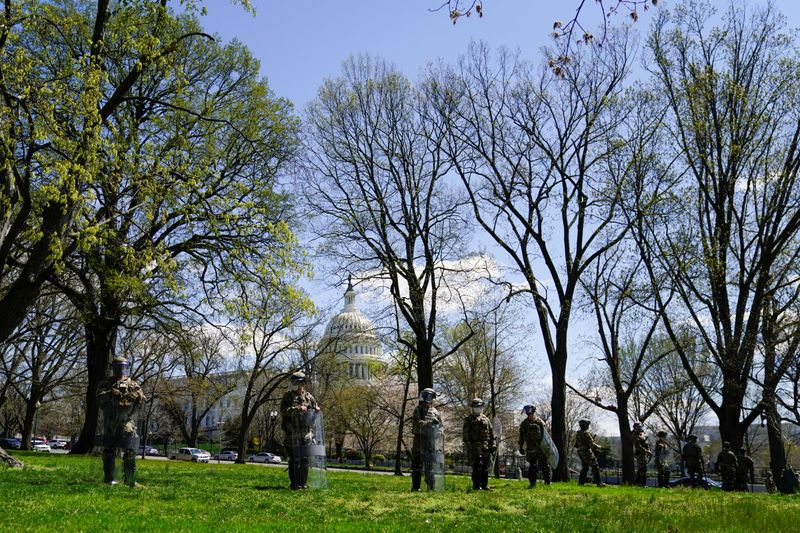 FILE PHOTO: U.S. Capitol and congressional office buildings locked down in Washington