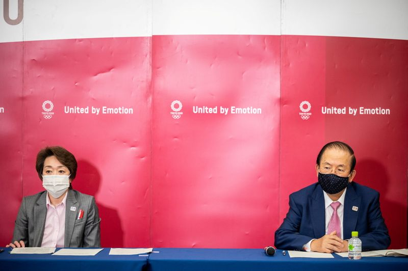 Tokyo 2020 news conference following the IOC Executive Board Meeting in Tokyo