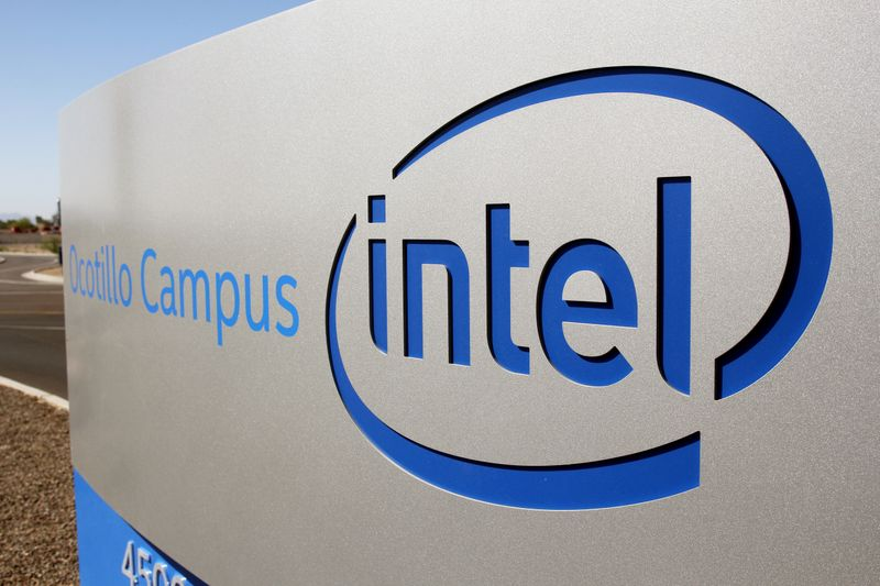 FILE PHOTO: Intel CEO visits Arizona factory on Manufacturing Day