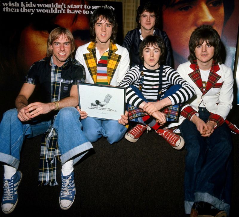 FILE PHOTO: FILE PHOTO OF SEVENTIES ROCK BAND THE BAY CITY ROLLERS.