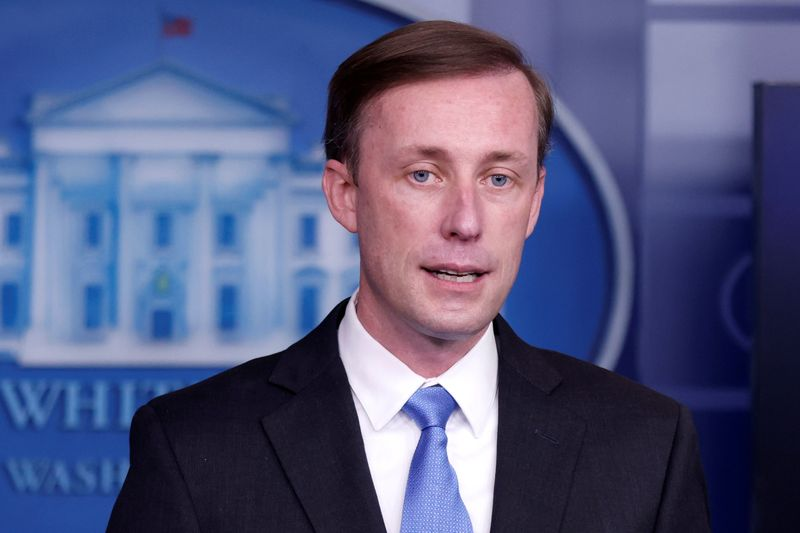 FILE PHOTO: Press briefing at the White House in Washington