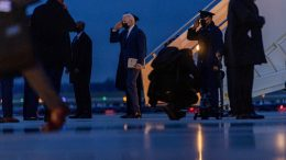 President Joe Biden arrives at Andrews Air Force Base, Md., Wednesday, March 31, 2021, to travel back to the White House after announcing his infrastructure plan in Pittsburgh. (AP Photo/Andrew Harnik)