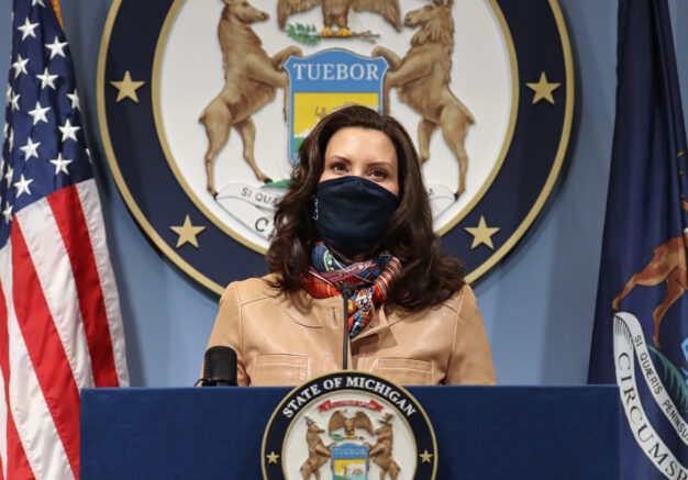 Mich. Gov. Whitmer faces resistance to COVID-19 shutdowns
