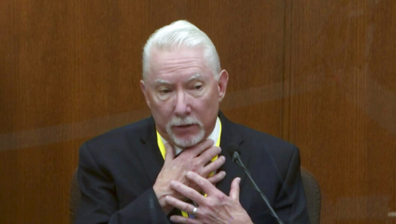 Fmr. home of defense witness in Derek Chauvin trial vandalized with severed pig's head, blood