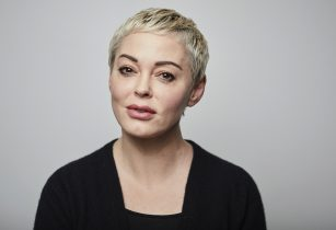 Rose McGowan poses for a portrait in New York on Friday, Jan. 3, 2020. McGowan doesn't plan be in the courtroom when Harvey Weinstein's sexual misconduct trial starts next week: One of Weinstein's most prominent accusers, McGowan says the trauma the fallen Hollywood mogul caused her is so great she couldn't bear the pain of it. McGowan has accused Weinstein of raping her more than 20 years ago and destroying her career; Weinstein has denied her claims. Since the allegations against Weinstein sparked the #MeToo movement, she has emerged as a vigorous advocate for sexual assault victims.(Photo by Matt Licari/Invision/AP)