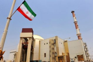 BUSHEHR, IRAN - AUGUST 21: This handout image supplied by the IIPA (Iran International Photo Agency) shows a view of the reactor building at the Russian-built Bushehr nuclear power plant as the first fuel is loaded, on August 21, 2010 in Bushehr, southern Iran. The Russiian built and operated nuclear power station has taken 35 years to build due to a series of sanctions imposed by the United Nations. The move has satisfied International concerns that Iran were intending to produce a nuclear weapon, but the facility's uranium fuel will fall well below the enrichment level needed for weapons-grade uranium. The plant is likely to begin electrictity production in a month. (Photo by IIPA via Getty Images)
