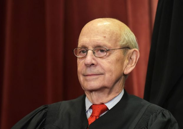Associate Justice Stephen Breyer poses for the official group photo at the US Supreme Court in Washington, DC on November 30, 2018. (Photo by MANDEL NGAN / AFP) (Photo credit should read MANDEL NGAN/AFP via Getty Images)