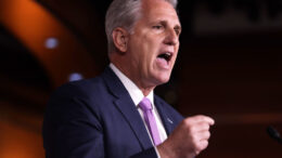 WASHINGTON, DC - DECEMBER 05: U.S. House Minority Leader Rep. Kevin McCarthy (R-CA) speaks during his weekly news conference December 5, 2019 on Capitol Hill in Washington, DC. McCarthy discussed the impeachment inquiry against President Donald Trump. (Photo by Alex Wong/Getty Images)