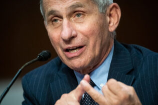WASHINGTON, DC - JUNE 30: Dr. Anthony Fauci, director of the National Institute of Allergy and Infectious Diseases, speaks during a Senate Health, Education, Labor and Pensions Committee hearing on June 30, 2020 in Washington, DC. Top federal health officials are expected to discuss efforts for safely getting back to work and school during the coronavirus pandemic. (Photo by Al Drago - Pool/Getty Images)