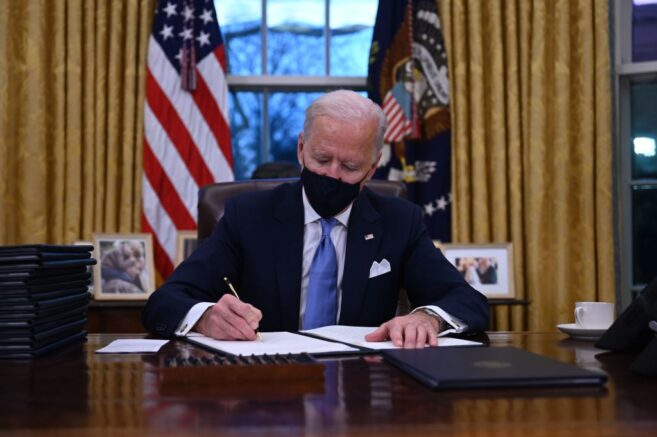 Biden signs memo banning federal use of 'Wuhan virus' to refer to COVID-19