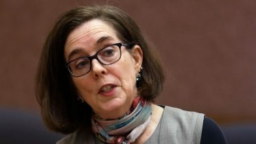 FILE - Oregon Gov. Kate Brown. ( AP File Photo/Don Ryan)