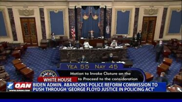 Biden admin. abandons police reform commission to push through 'George Floyd Justice in Policing Act'