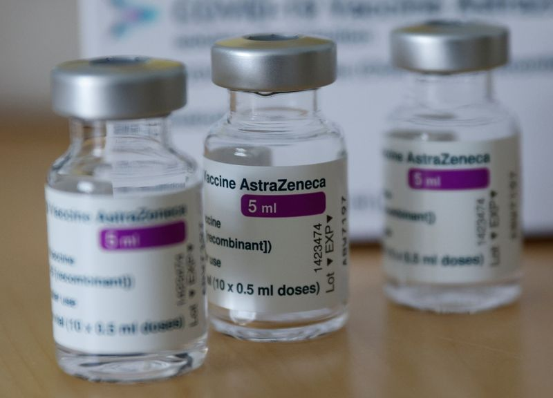 Vaccination against coronavirus disease at a doctor's general practice, in Vienna