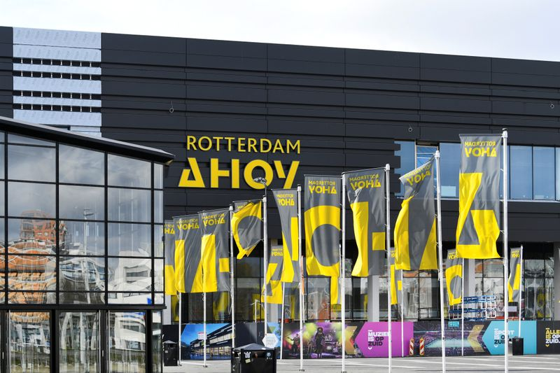 General view of the concert hall Ahoy in Rotterdam