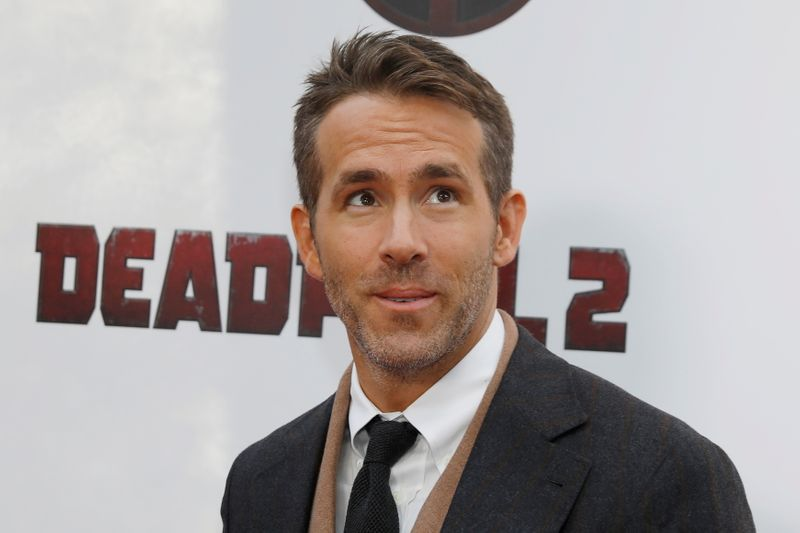 FILE PHOTO: Actor Ryan Reynolds poses on the red carpet during the premiere of