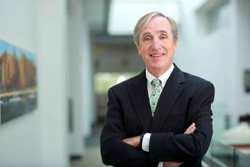 Former Vanguard Chairman and CEO Jack Brennan poses in an undated photo