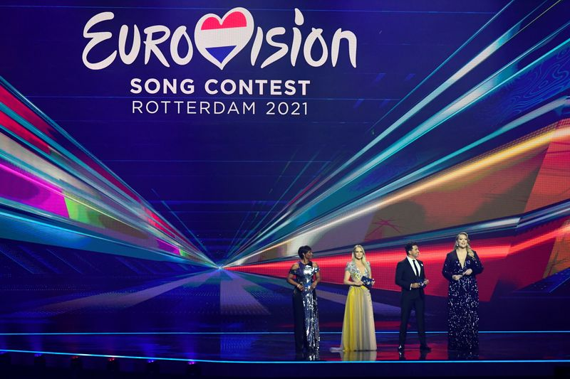 Eurovision song contest first semi-final in Rotterdam