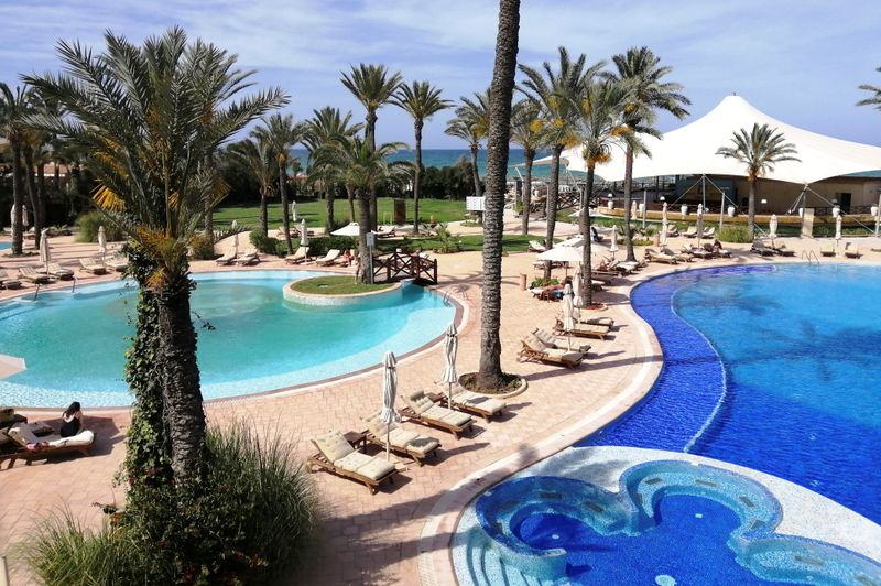 A general view of the the Movenpick Resort and Marine Spa in Sousse