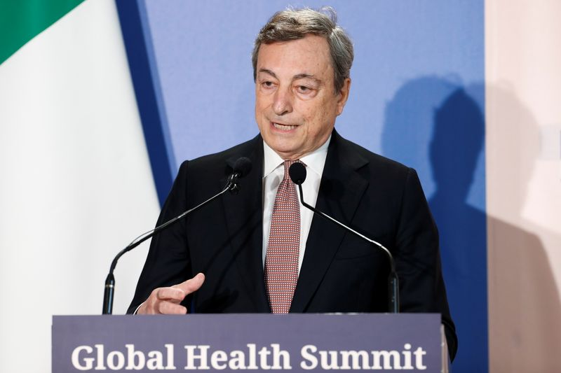 Virtual G20 summit on the global health crisis, in Rome