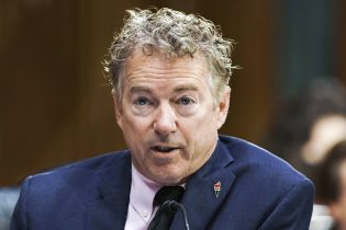 Sen. Rand Paul, R-Ky., speaks during a Senate Health, Education, Labor and Pensions Committee hearing to examine an update from Federal officials on efforts to combat COVID-19 on Tuesday, May 11, 2021, on Capitol Hill, in Washington. (Greg Nash/Pool via AP)