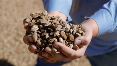 File - Crushed rare earth ore is pictured. (Reuters Photo)