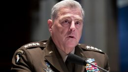 Chairman of the Joint Chiefs of Staff Gen. Mark Milley testifies during a House Armed Services Committee hearing on July 9, 2020, on Capitol Hill in Washington. (Michael Reynolds/Pool via AP)