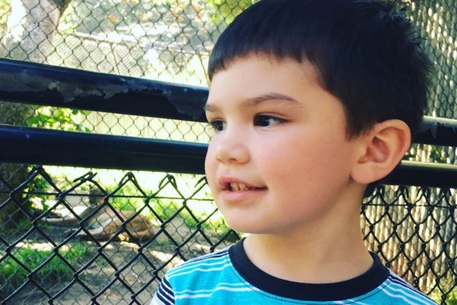 Aiden Leos, 6, is pictured. (GoFundMe/Photo)