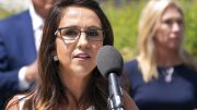 """Rep. Lauren Boebert, R-Colo., speaks during a news conference, Wednesday, May 12, 2021, expressing opposition to """"critical race theory,"""" during a news conference on Capitol Hill in Washington. (AP Photo/Jacquelyn Martin)"""