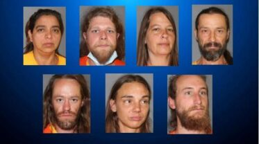 Ryan Kramer, Christopher Royer, Sarah Rudolph, Karin Raymond, Jason Castillo, John Robertson and Obdulia Franco were charged with abuse of a corpse and two counts of child abuse. SAGUACHE COUNTY SHERIFF'S OFFICE