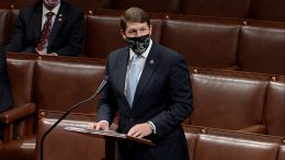 In this image from video, Rep. Jodey Arrington, R-Texas, speaks as the House debates the objection to confirm the Electoral College vote from Pennsylvania, at the U.S. Capitol early Thursday, Jan. 7, 2021. (House Television via AP)