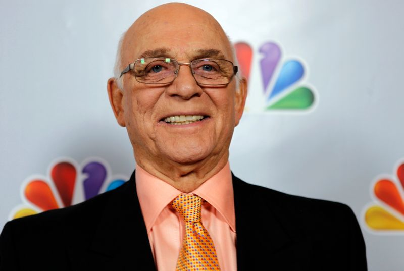 FILE PHOTO: Gavin MacLeod arrives for the taping of