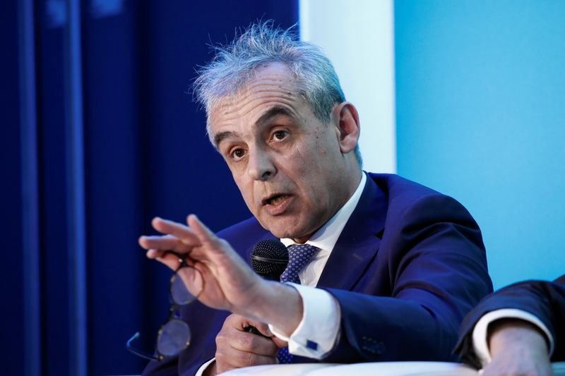 Euronext stock exchange's annual conference in Paris