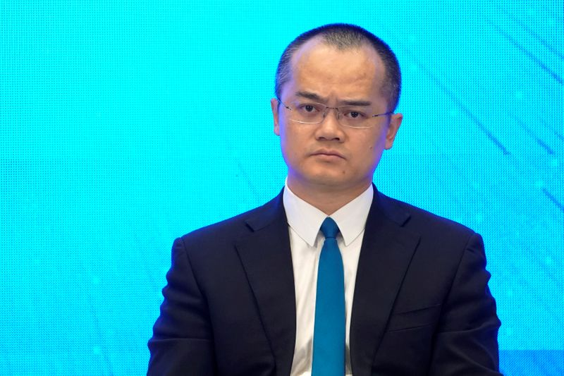 Wang Xing, CEO of Meituan-Dianping attends at the World Internet Conference (WIC) in Wuzhen