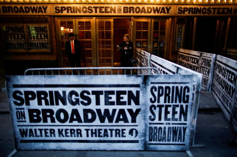 FILE PHOTO: Signs are seen before the debut of
