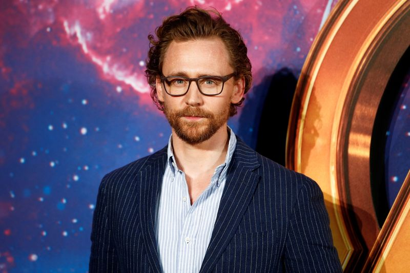 FILE PHOTO: Actor Tom Hiddleston attends the Avengers: Infinity War fan event in London