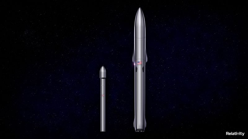 The Terran 1 and Terran R rockets being developed by Long Beach, California-based Relativity Space